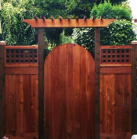 Garden Fence And Gate Ideas arbor gate ideas cedar fence gates ideas for the
