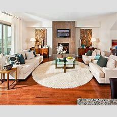 Furniture Arrangement For L Room  House Coaster