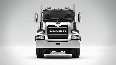 mack volvo trucks driving the mack granite with mdrive hd truck news
