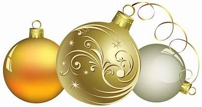 Christmas Transparent Clipart Ball Decor Background Ornaments