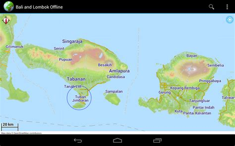 offline map bali lombok android apps op google play