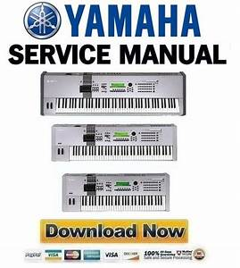 Yamaha Motif-6 Motif-7 Motif-8 Service Manual Repair Guide