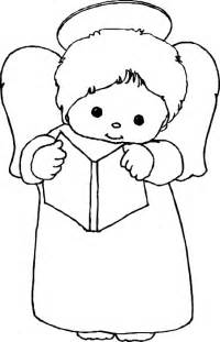 Baby Girl Angel Coloring Pages
