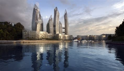 reflections  keppel bay libeskind