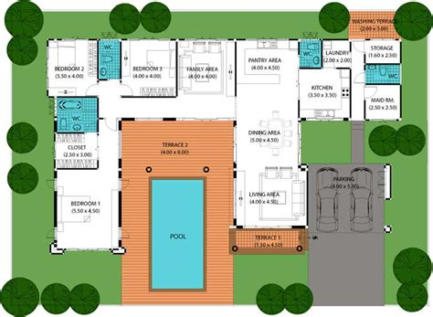 house plans with swimming pools house plans with a pool smalltowndjs