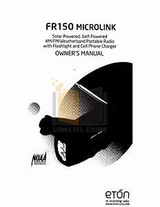 Download Free Pdf For Eton Fr400 Radio Manual