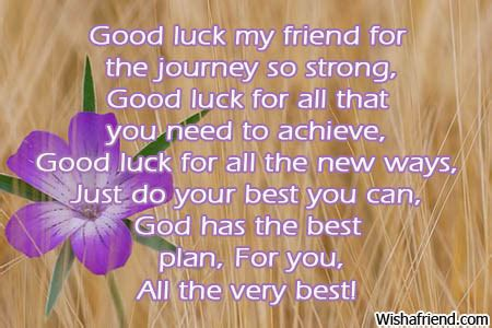 Good Luck On Your New Journey Quotes Quotesgram