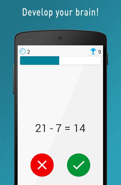 Quick Brain Mathematics  Exercises For The Brain  Android Apps On Google Play