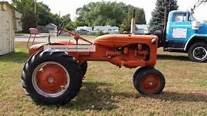 1942 Allis Chalmers  U0026quot  C  U0026quot  Tractor