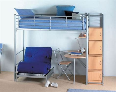 Bunk Bed Sofa Desk by 45 Bunk Bed Ideas With Desks Ultimate Home Ideas