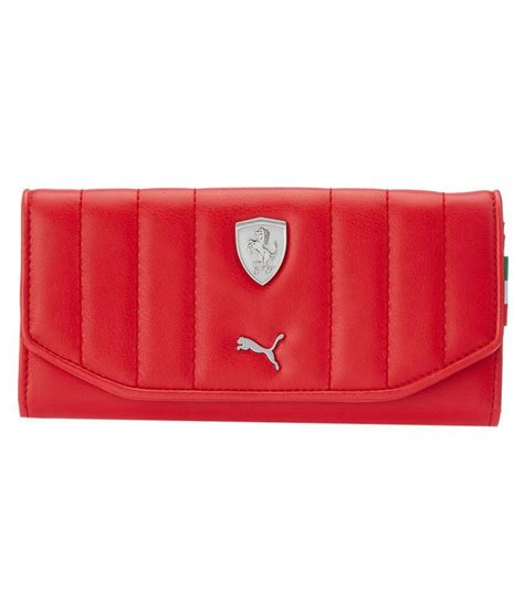 Thanks to the folding construction and smart credit card holder, with puma, you will always have your cards quickly to hand. Buy Puma F1 Red Wallet at Best Prices in India - Snapdeal