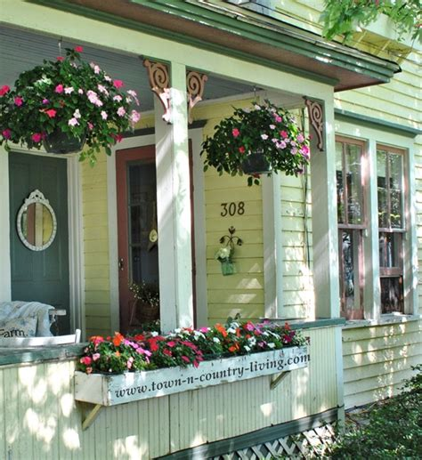 Decorating With Yellow by Summer Farmhouse Porch Decorating Ideas Town Amp Country