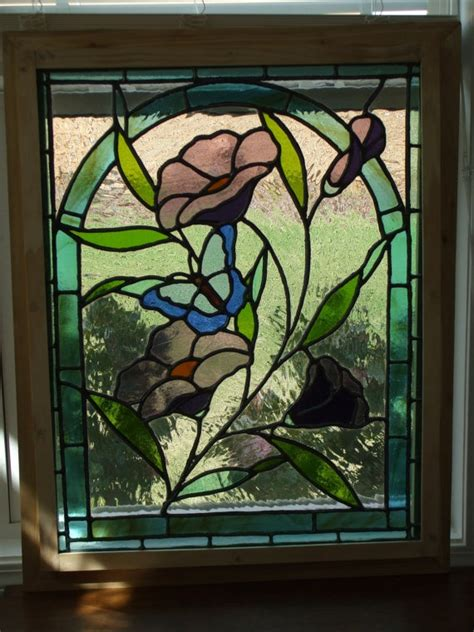 images  stained glass butterflies dragonflies