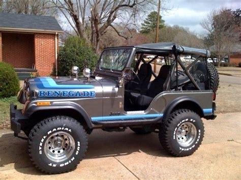 jeep cj renegade 1982 jeep cj5 renegade 4x4 v8 classic jeep cj 1982 for sale