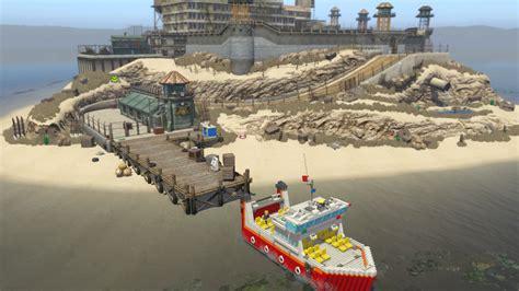 Lego Albatross Boat by Lego City Undercover Walkthrough Chapter 3 Guide