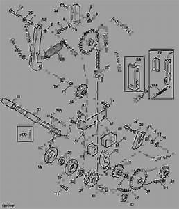 Upper Chain Idler - Baler  Round John Deere 568