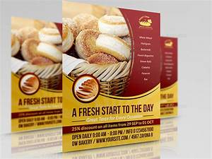 Free Flyer Maker Printable Bakery Advertising Bundle Vol 2 By Owpictures Graphicriver