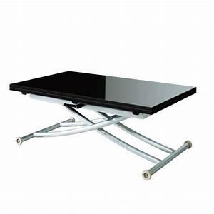 Table Basse Transformable En Table Haute : table transformable en table basse ~ Teatrodelosmanantiales.com Idées de Décoration