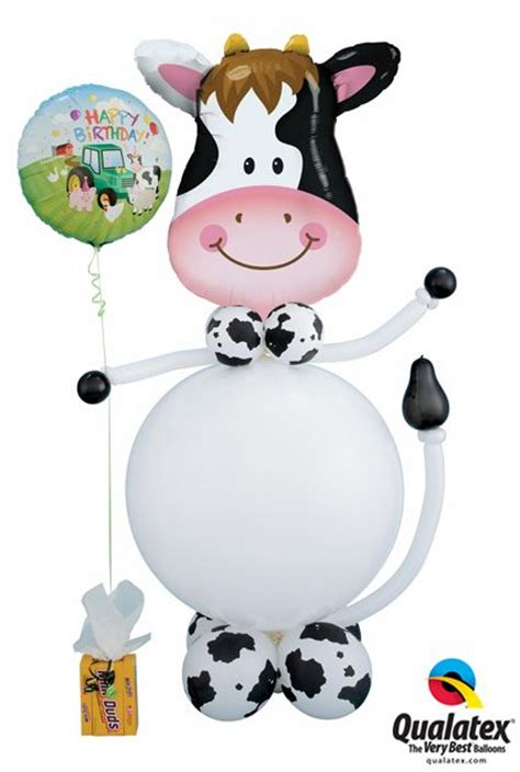 Cowhide Balloons - 1000 ideas about happy birthday balloons on