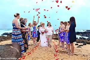 wedding in hawaii kauai hawaii wedding planners offering civil union weddings