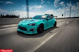 SEMA built Tiffany Blue Rocket Bunny FR-S - Rare Cars for