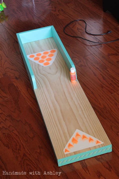 ana white diy bowling lane diy projects
