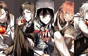 Wallpaper Collage  Apples  Guys  Bungou Stray Dogs  Stray