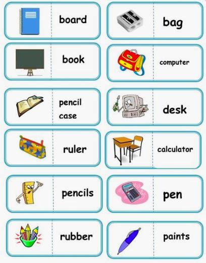 vocabulary set   images english activities