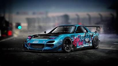 Mazda Rx Drift Cars Rx7 Wallpapers Machine