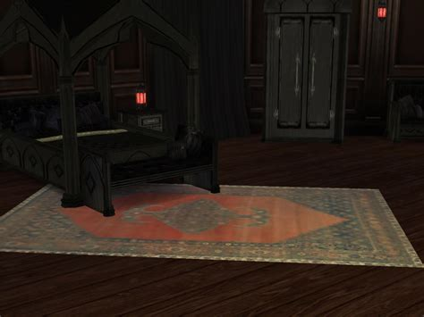 sims  blog gothic medieval bedroom set  lunenore
