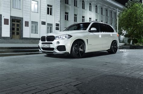 White Bmw Rims by Alpine White Bmw X5 M With Adv 1 Wheels