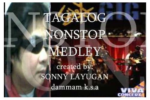baixar non stop tagalog song medley