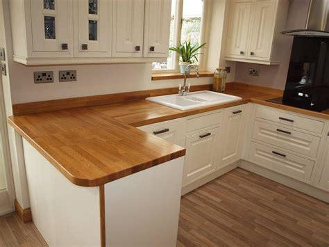 Oak Kitchen Island - prime oak worktop gallery