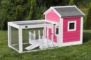 Hasenkäfig Für Draußen : hasenstall haus mit garten rosa oder blau ~ A.2002-acura-tl-radio.info Haus und Dekorationen