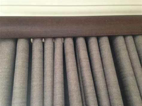 gallery images of the accessories for curtain rods bay fabric fusion wave pleat gallery