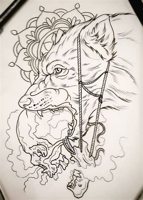 wolf tattoo design tattoo insperation tattoo