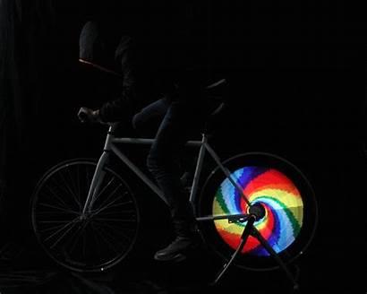 Led Lights Bike Night Wheels Graphics Display