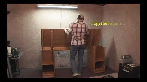 building a studio how to build a home recording studio desk step by step