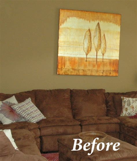 a better paint color a brown sofa try