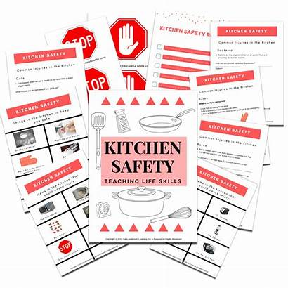 Safety Kitchen Learning Autism Skills Teens Rules