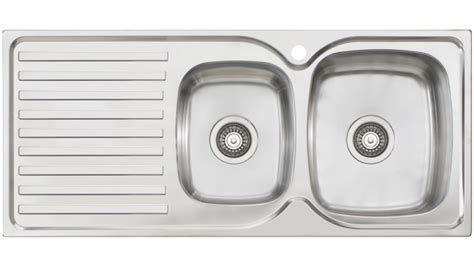 oliveri kitchen sinks buy oliveri byron 1 3 4 right bowl top mount sink 1182