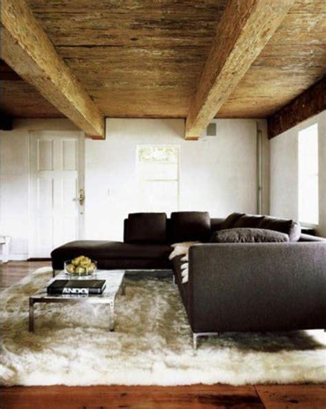 12 salons sublim 233 s par un tapis flokati blanc bricobistro