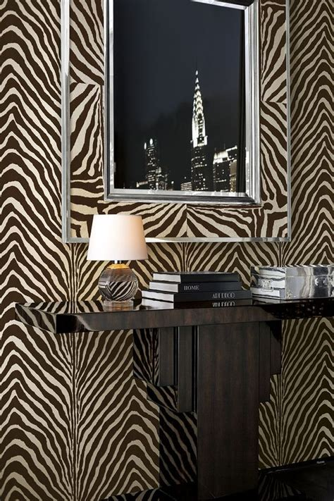 Animal Print Wallpaper For Home - animal print wallcovering from ralph home s