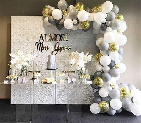 engagement party wedding elegant bridal shower