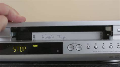 Cassette Vhs by Vcr Vhs Montage