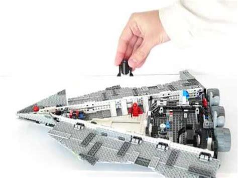 lego  imperial star destroyer playability youtube