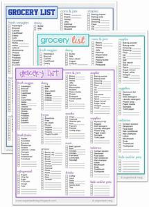 17 best Shopping List Templates & Printables images on ...