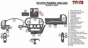 Toyota Tundra Interior Parts Diagram