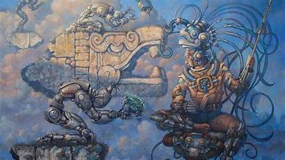 Maya Wallpapers Aztech Aztec Mayan Technology Ancient