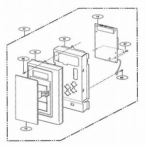 Panasonic Microwave Oven Cavity Parts